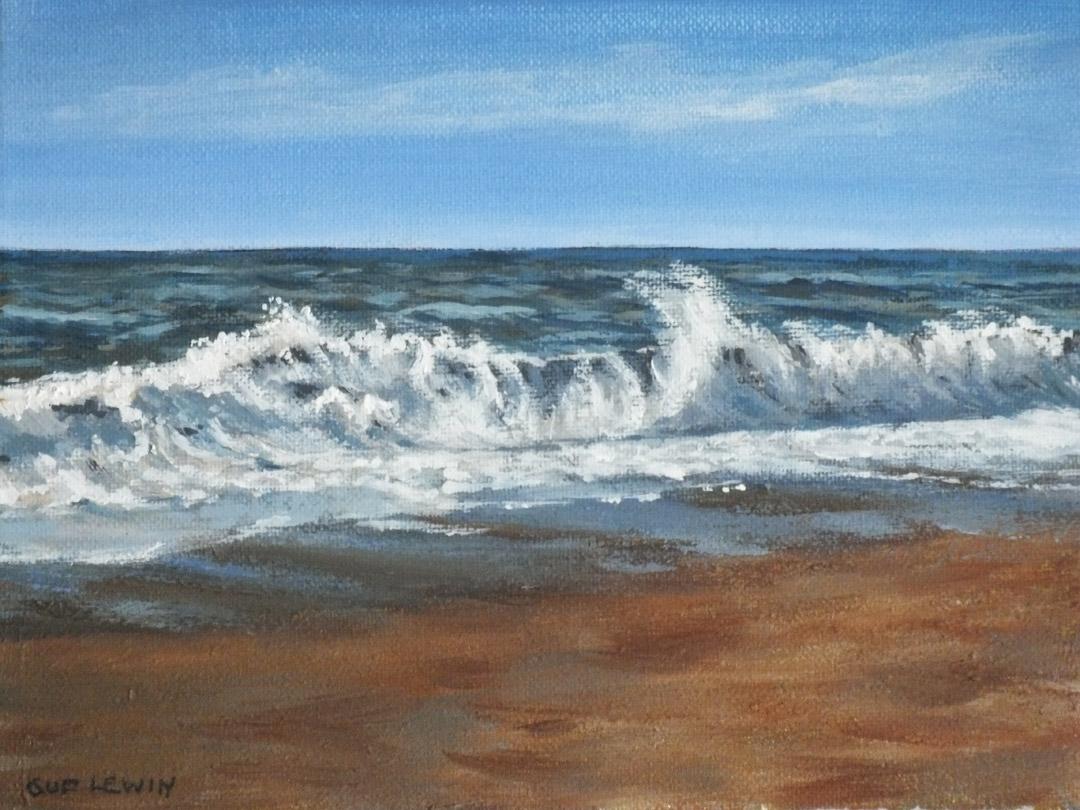 Burton Bradstock 1 - Sue Lewin Artist