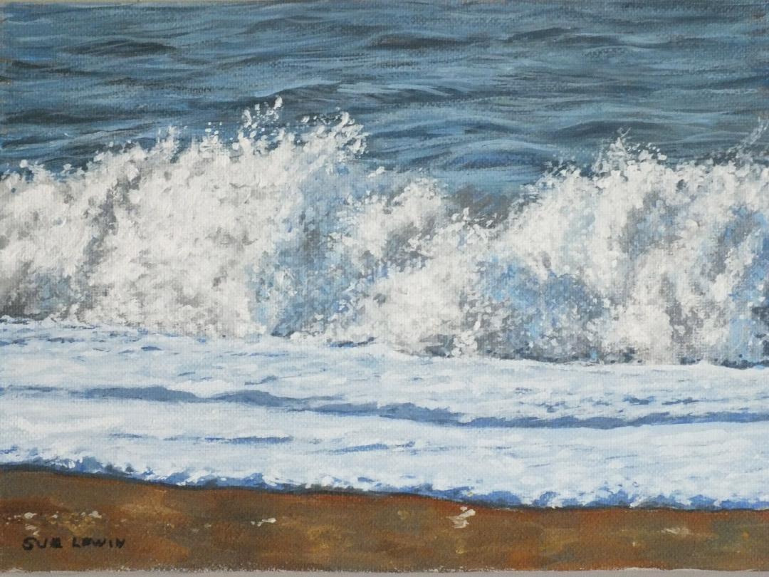 Burton Bradstock 3 - Sue Lewin Artist
