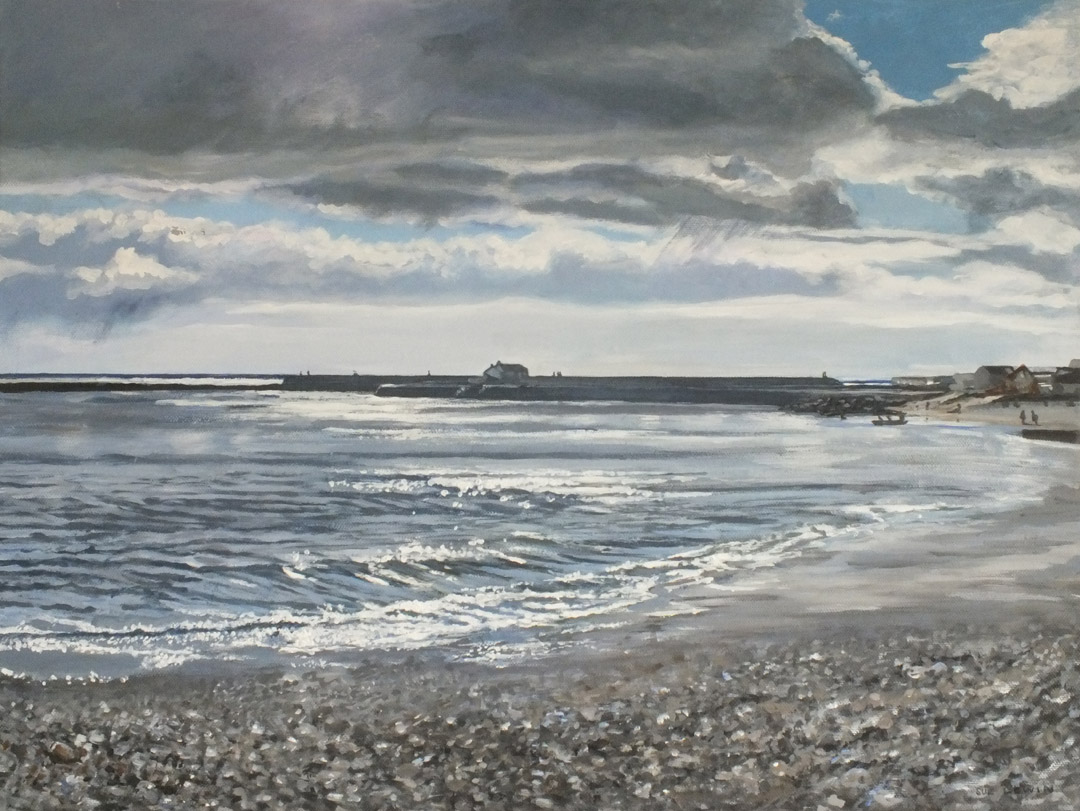 Storm Over the Cobb - Sue Lewin Artist
