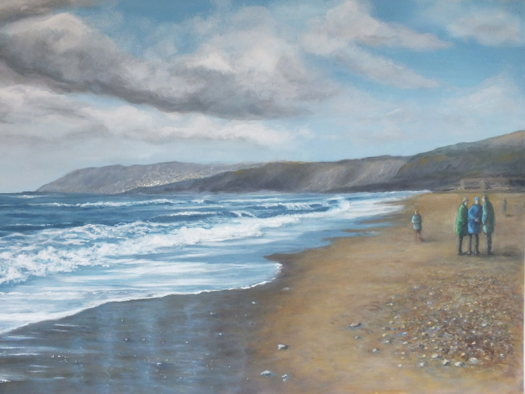 Fossil Find, Charmouth, Dorset, - Sue Lewin